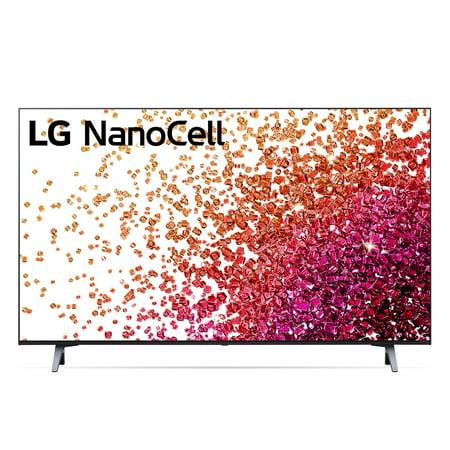 "LG 43"" Class 4K UHD Smart NanoCell 75 Series TV with AI ThinQ® 43NANO75UPA"