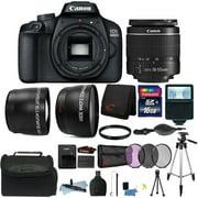 Canon EOS 4000D Rebel 18MP Digital SLR Camera + 18-55mm Lens + 16GB Bundle