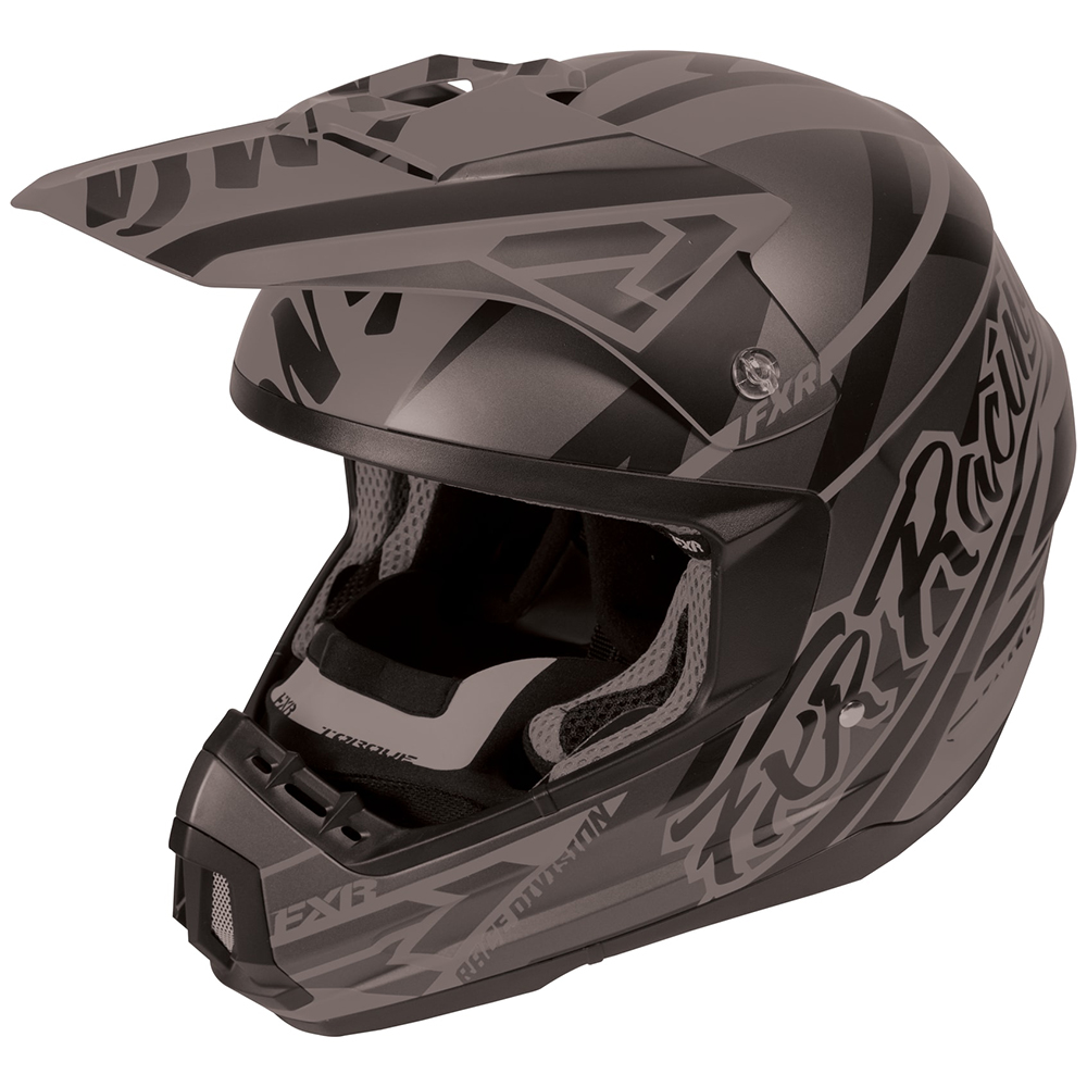 FXR Youth Nitro Primer Helmet Bright Colored Anti-Scratch Snowmobile Snocross