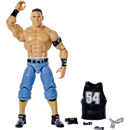 WWE Defining Moments Elite John Cena - John Cena Muscle Size