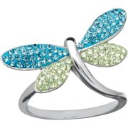 Luminesse Dragonfly Ring Made With Swaro