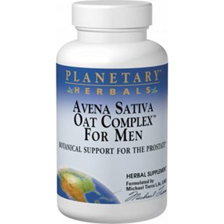 Planetary Formulas Planetary Herbals  Avena Sativa Oat Complex for Men, 100 ea