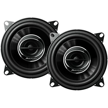 TS-G1045R Dual Cone 4-Inch 210 W 2-Way Speakers-Set of 2, • 210 Watts Max Power (30 Watts Nominal) By