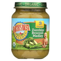 Baby Food: Earth's Best Organic Jars