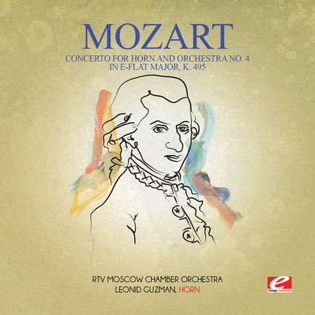 Mozart - Concerto for Horn & Orchestra No. 4 in E-Flat