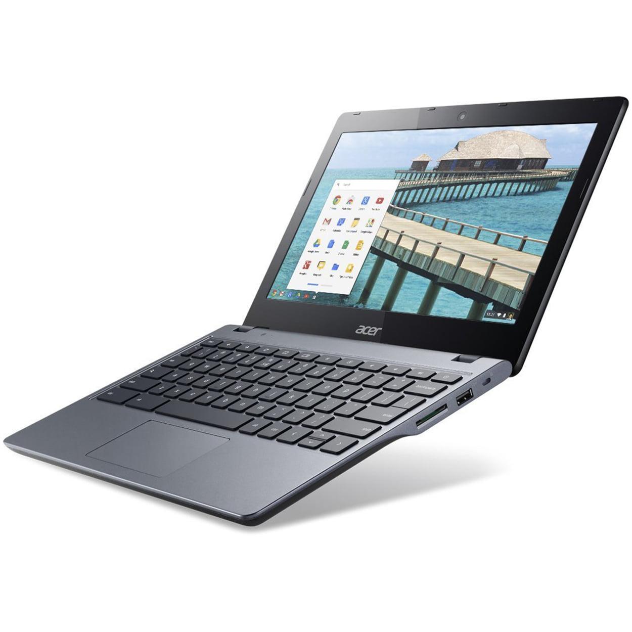 Refurbished Acer C720 Google Chromebook Notebook Laptop 11.6-Inch LED 4GB RAM 16GB SSD