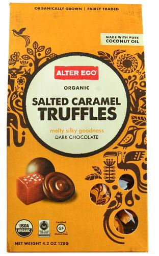 Alter Eco Truffles Dark Chocolate Salted Caramel, 4.2 Oz by Alter Eco