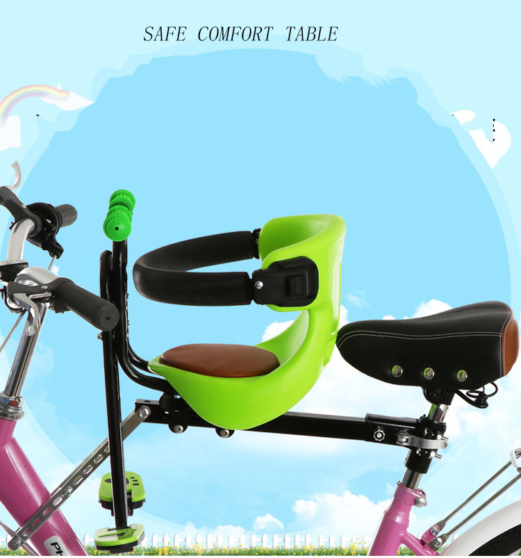 Safety Stable Baby Kids Seat Bicycle Bike Front Seat Chair Carrier Outdoor Sport