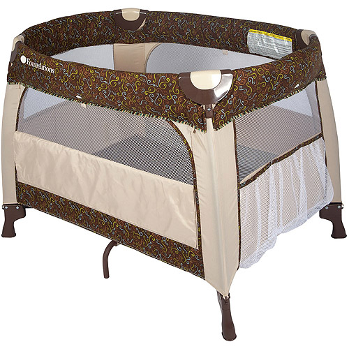 Foundations Boutique Mystic Playard, Brown/Tan