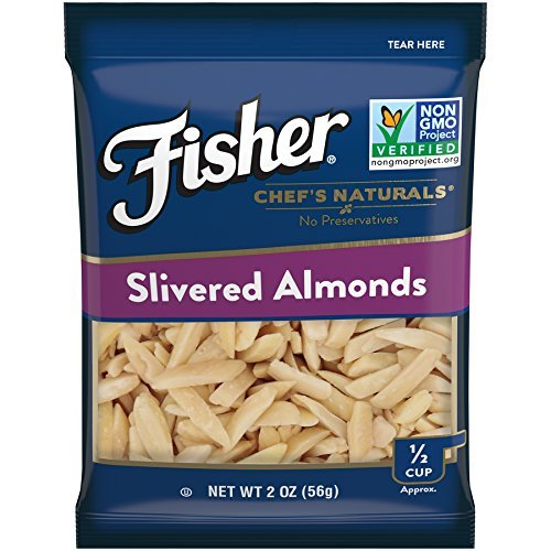 Fisher Chef's Naturals Slivered Almonds, Non-GMO, 2 oz