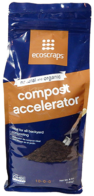 Scotts Miracle Gro CA15IN4001 Organic Compost Accelerator, 10-0-0 Formula, 4-Lbs. by SCOTTS MIRACLE GRO