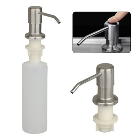 500ml Sink Soap Dispenser Stainless Steel Kitchen Soap Hand Soap Dispenser Pump