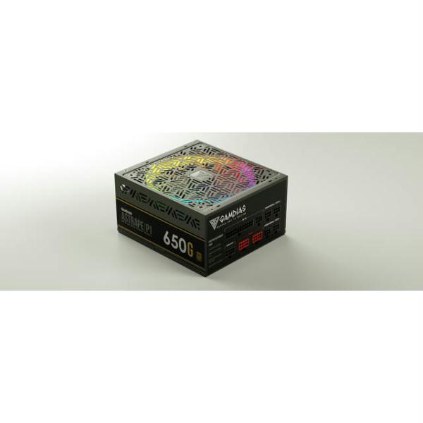 GAMDIAS ASTRAPE P1-650G 650W 80 PLUS Standard ATX12V v2.2 Power Supply w- Active PFC - image 1 de 1