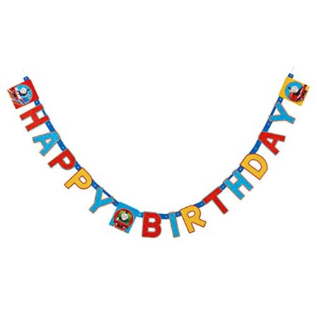 american greetings thomas and friends birthday party banner - Thomas Birthday Banner