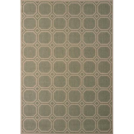 United Weavers Solarium Mosaic Green Accent Rug 2'7'' x 4'2'' ()