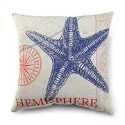 DEMDACO Starfish Pillow