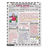 "Scholastic Instant Personal Poster Sets, Extra Extra Read All About Me, 17"" x 22"", 30/Pack -SHS0439152917"
