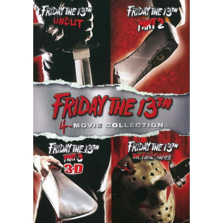 Friday the 13th, Parts 1-4 (DVD) (Friday The 13th Best Counselor)