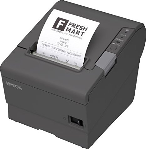 Epson TM-T88V Thermal Receipt Printer (USB/Ethernet/PS180 Power Supply)