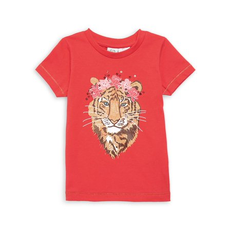 Little Girl's Graphic T-Shirt (Short Bob Hairstyles For Women Over 60)