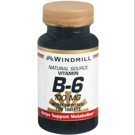 Windmill Vitamine B-6 100 mg