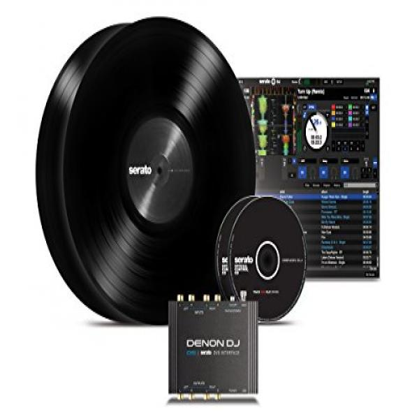 Denon DJ DS1 | Pocket-Sized Digital Vinyl Audio Interface with full Serato DJ & Serato DVS... by Denon DJ