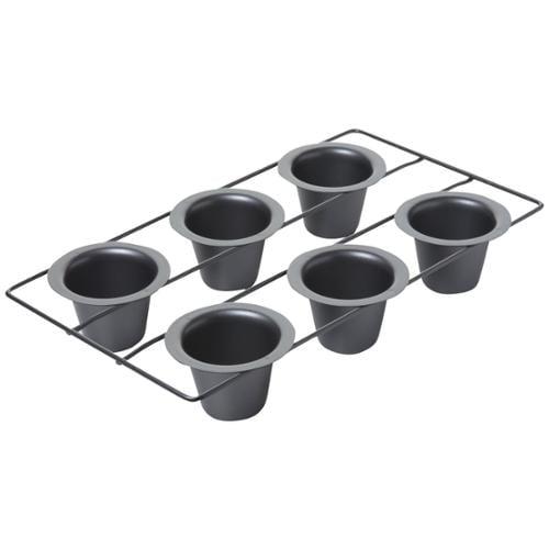 "Gourmet Ware Popover Pan 6 Cavity-16""X9-1/2"" (2-3/4""X2-1/4"" Cavities)"