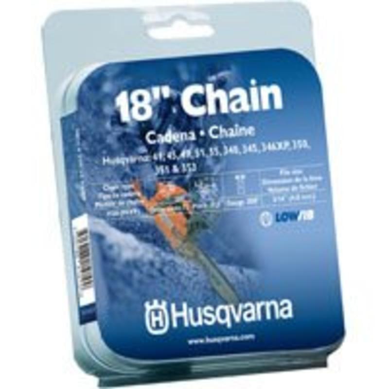HUSQVARNA FOREST & GARDEN - Chain Saw Chain, Narrow Kerf, 18-In.
