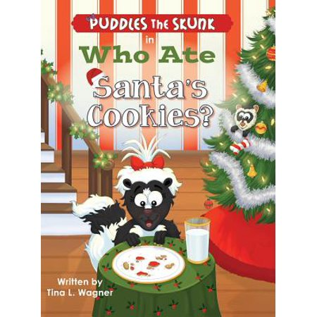 Puddles The Skunk In Who Ate Santas Cookies