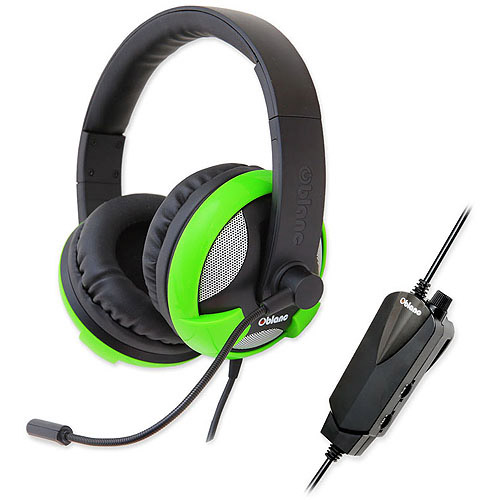 "Oblanc OG-AUD63061 U.F.O. 5.1 Surround Sound, USB Connectivity, 6"" Boom Mic., Color Green"