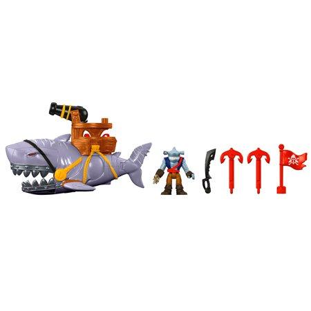 Imaginext Mega Mouth Shark and Figure (Lookout Shark)