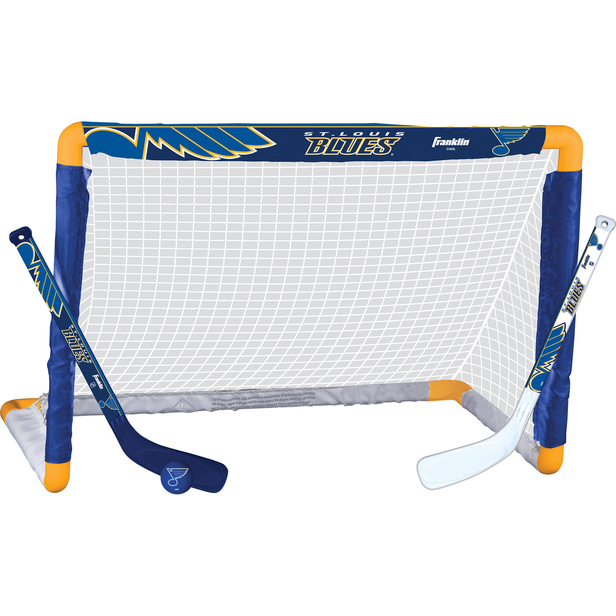 Franklin Sports NHL St. Louis Blues Mini Hockey Set