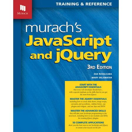 Murachs Javascript And Jquery