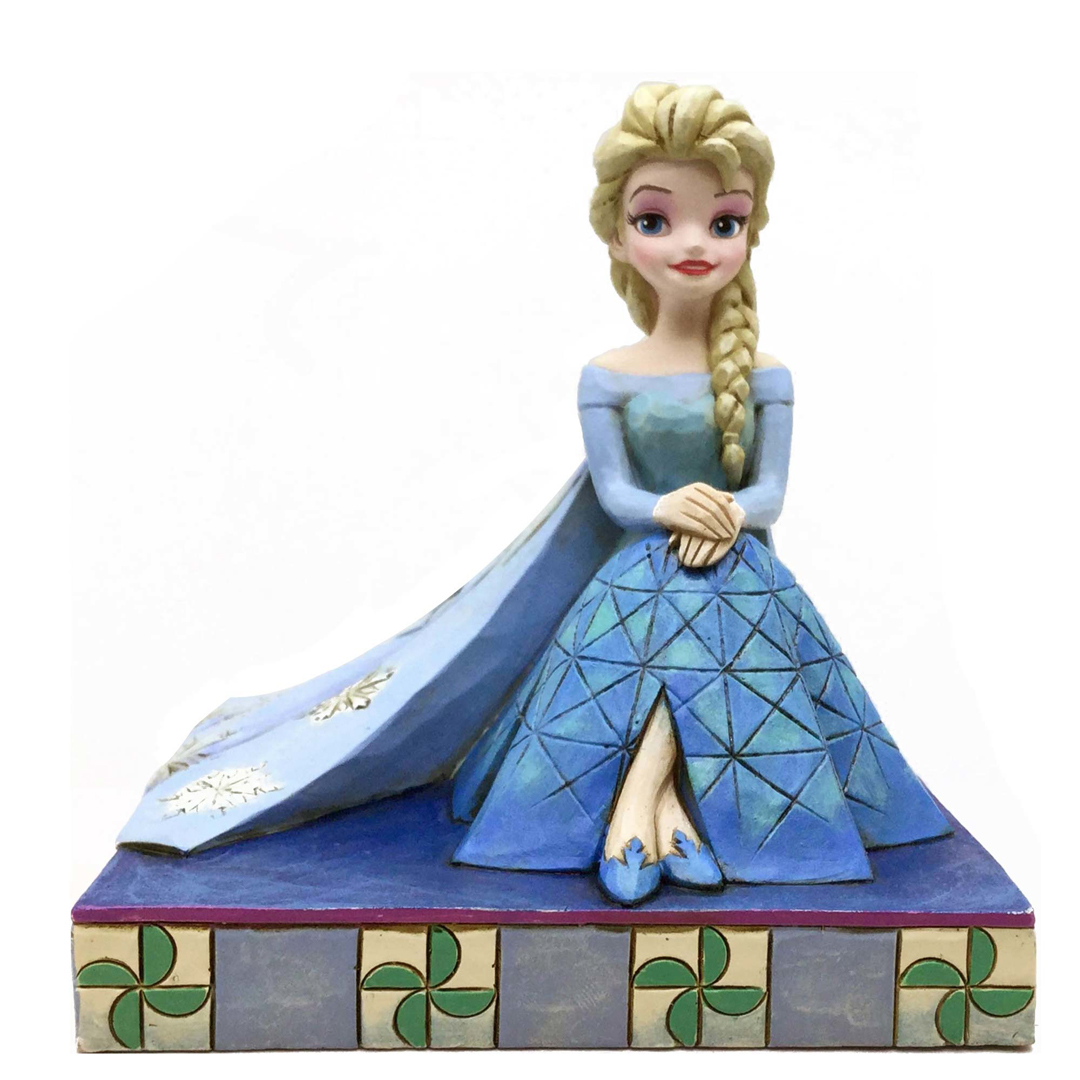 Jim Shore Disney Traditions 4050406 Elsa Personality Pose New 2015