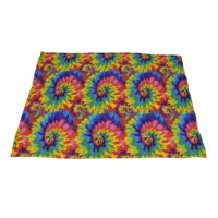 Fleece Weighted Blanket, Small - Multi Color