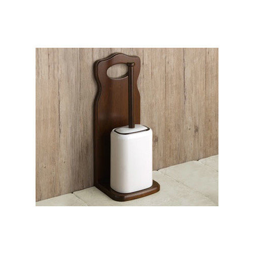 Gedy by Nameeks Montana Wall Mounted Toilet Brush and Holder
