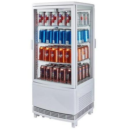 Winco - CRD-1 - 120V Countertop Refrigerated Beverage Display