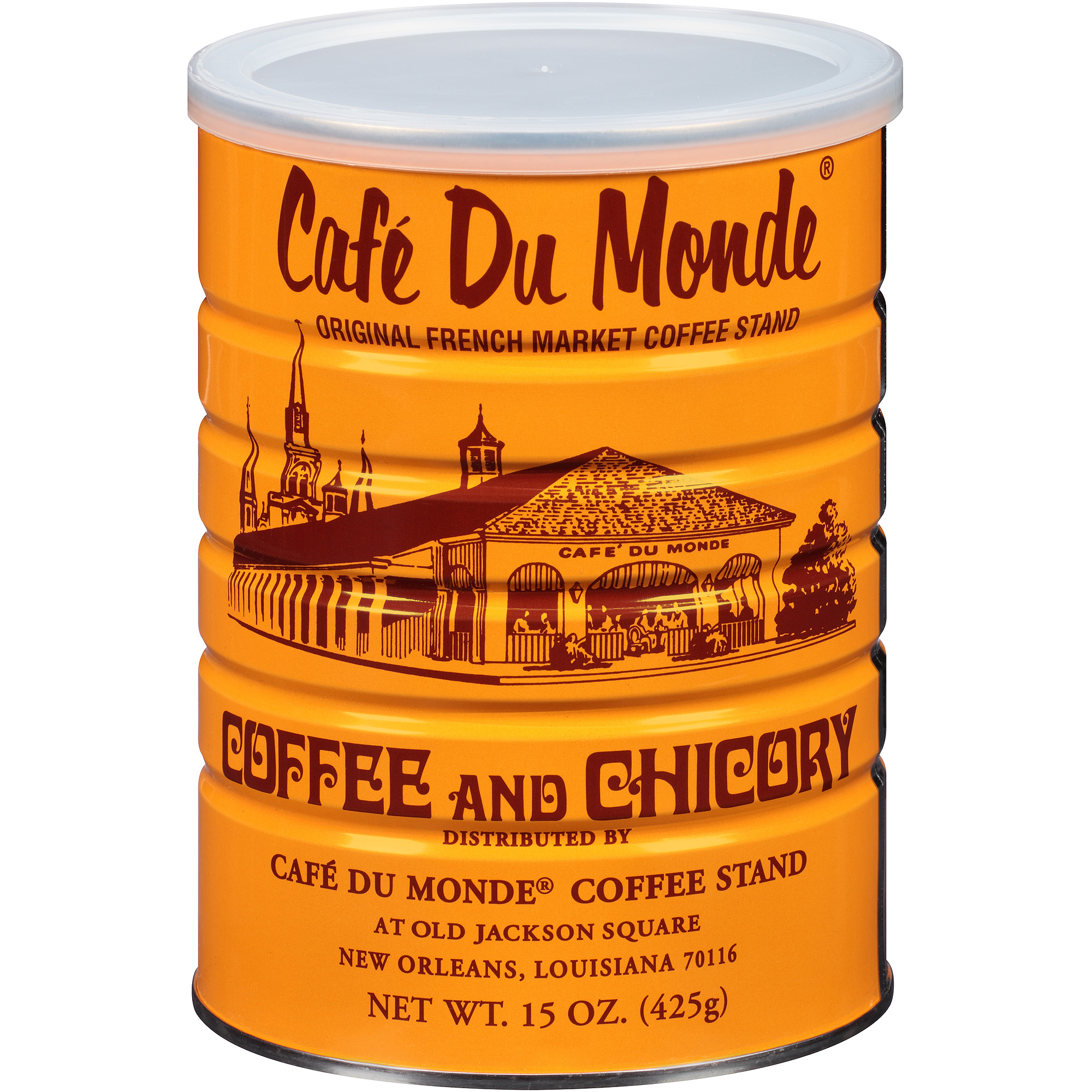 Cafe Du Monde Original French Market Coffee Stand Coffee and Chicory, 15 oz