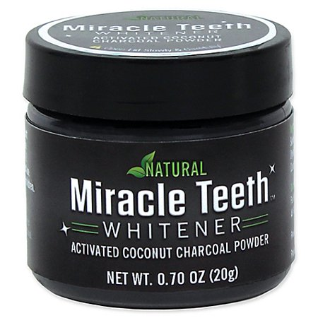 - As Seen On Tv Miracle Teeth Whitener - Natural Charcoal Based Teeth Whitening