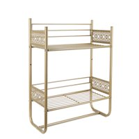 Silverwood Filigree Bathroom Collection Wall Shelf