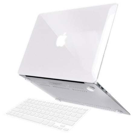 the best attitude 2d2e8 1ed80 iBenzer Basic Soft-Touch Series Plastic Hard Case & Keyboard Cover for  Apple Macbook Air 13-inch 13