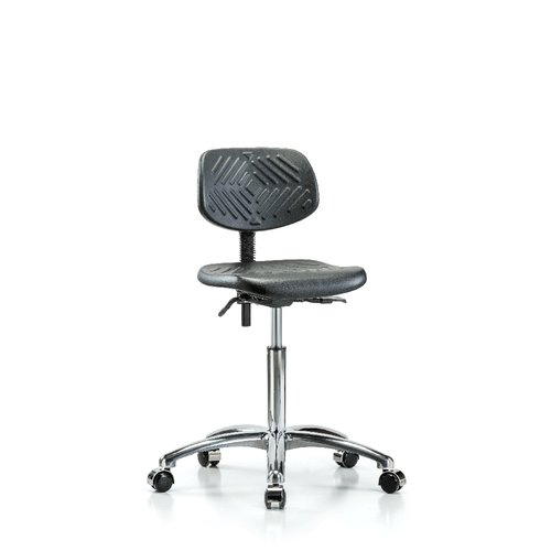 Perch Chairs & Stools Industrial Low-Back Desk Chair by