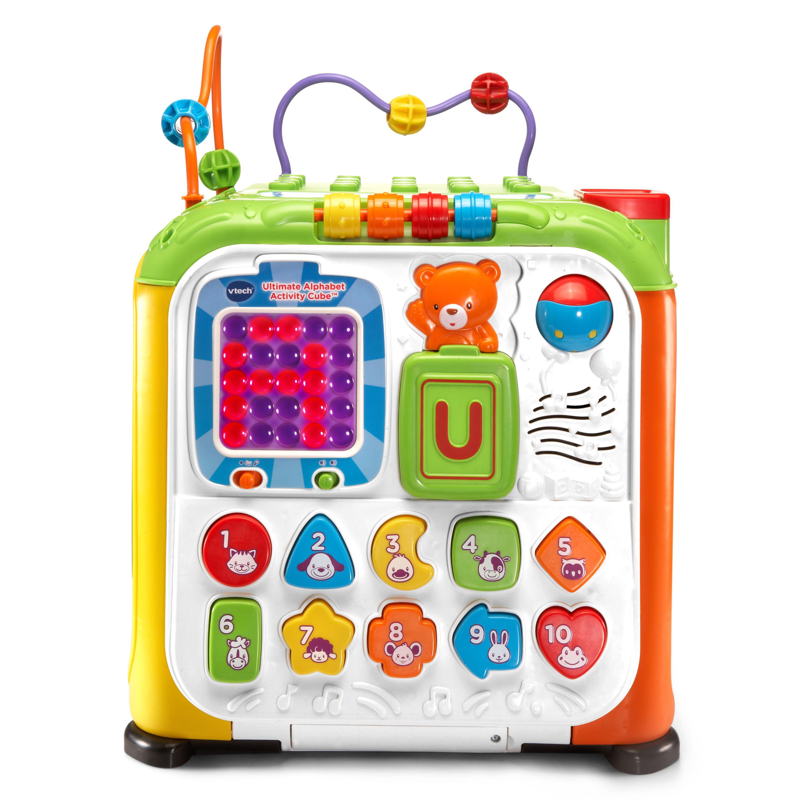 Vtech Ultimate Alphabet Activity Cube Walmartcom