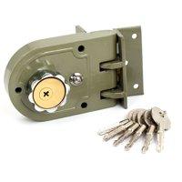 Home Office Single Cylinder Jimmy Proof Door Locks with keys Hardware Deadbolt