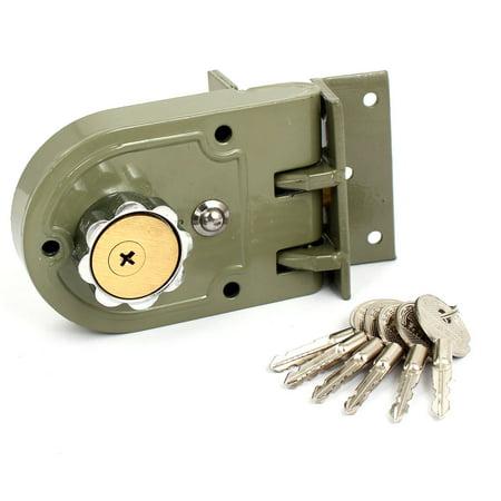 - Unique Bargains Home Office Hardware Single Cylinder Deadbolt Jimmy Proof Keyed Door Lock
