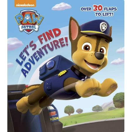 Lets Find Adventure (Board Book) (Paw Patrol Books)