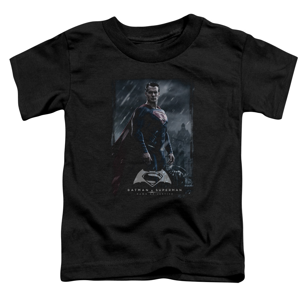 Batman Vs Superman Super Poster Little Boys Shirt