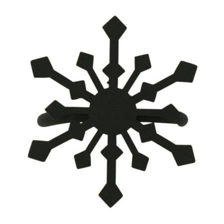 Snowflake Napkin Rings ((Price/Each)Village Wrought Iron NR-85 Snowflake - Napkin)