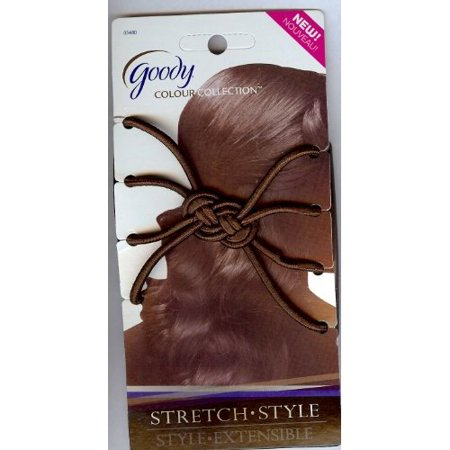 Goody Womens Colour Collection Simple Styles Updo Stretch Comb Brunette Color (1950 Hairstyles Updos)