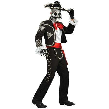 Men's El Senor Dia de los Muertos Grand Heritage Costume